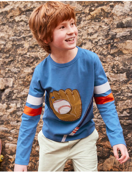 Appliqué Sports T Shirt by Boden