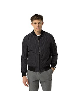 Pinstripe Bomber by Tommy Hilfiger