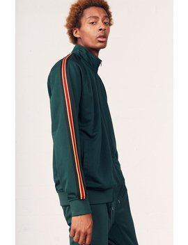 Side Stripe Track Jacket by Pac Sun