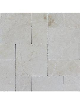 Aegean Pearl Pattern 16 In. X 24 In. Tumbled Marble Paver Kit (10 Kits / 160 Sq. Ft. / Pallet) by Msi