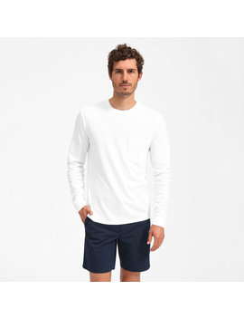 The Cotton Long Sleeve Pocket by Everlane
