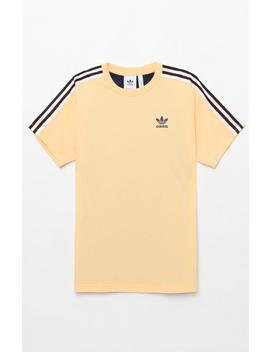 B Sides Trefoil Yellow T Shirt by Adidas