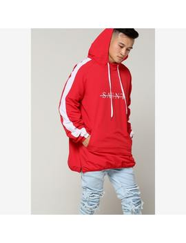 Saint Morta Strikeout Anorak Red/White by Saint Morta