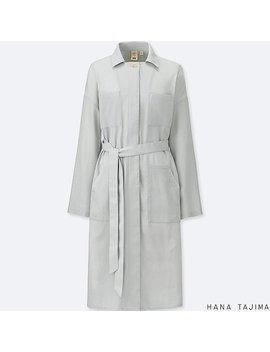 Women Hpj Belted Long Sleeve Dress by Uniqlo