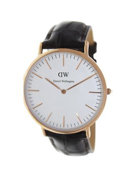 Daniel Wellington Men's York 0111 Dw Brown Leather Quartz Fashion Watch by Daniel Wellington