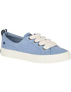 Women's Crest Vibe Chubby Lace Sneaker by Sperry