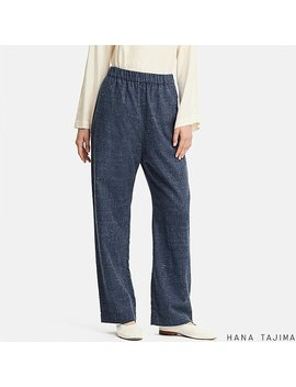 Women Hpj Flannel Tapered Pants by Uniqlo