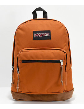 Jan Sport Right Pack Brown Canyon Backpack by Jansport