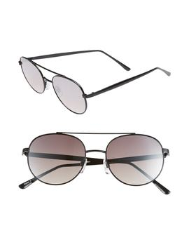 51mm Oval Aviator Sunglasses by Bp.