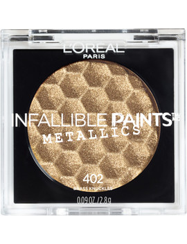 Infallible Paints Eyeshadow Metallics by L'oréal
