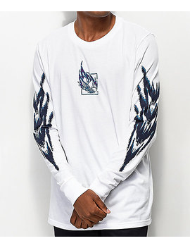Adidas Tennis Tribe White Long Sleeve T Shirt by Adidas