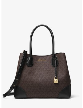 Mercer Gallery Medium Logo Satchel by Michael Michael Kors