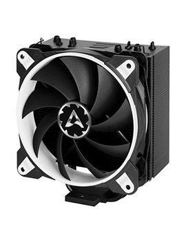 Arctic Freezer 33 E Sports One   Tower Cpu Cooler With 120 Mm Pwm Processor Fan For Intel And Amd Sockets   For Cp Us Up To 200 Watts Tdp   Silent And Efficient (White) by Arctic