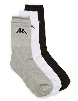 Signature Athletic Socks Set Of 3 by Kappa