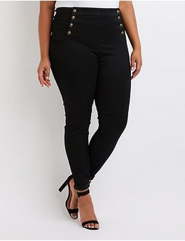 Plus Size Cello Sailor Jeans by Charlotte Russe