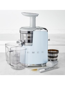 Smeg 50's Style Slow Juicer Pastel by Williams   Sonoma