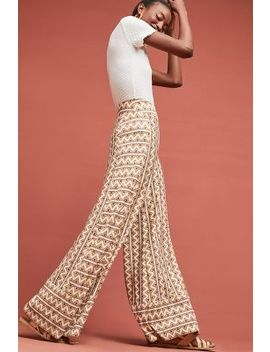Farm Rio Striped Wide Leg Pants by Farm Rio For Anthropologie