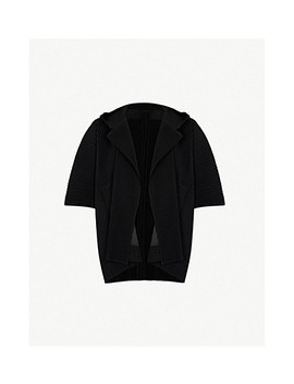 Hooded Pleated Jacket by Homme Plisse Issey Miyake