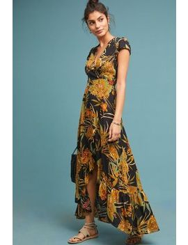 Buenos Aires Maxi Wrap Dress by Xix Palms