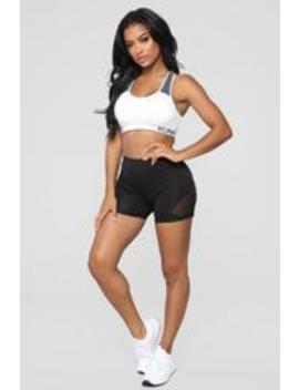 Keep Going Active Shorts   Black by Fashion Nova