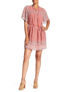 Jenna Printed Dress by Lucky Brand