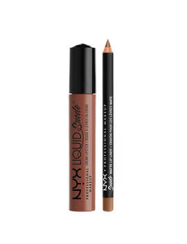 """Liquid Suede Lippie Duo   Sandstorm              <Span Class=""""Product.Sample.Minicart.Class.Variationdetails""""></Span> by Nyx Cosmetics"""