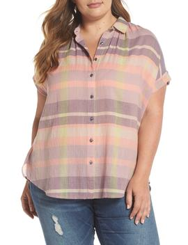 Sheer Stripe Shirt by Caslon®