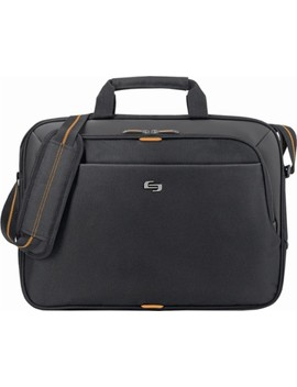 Urban Laptop Briefcase   Black/Orange by Solo
