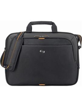 Urban Laptop Briefcase   Black/Orange by Solo