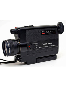 Canon Super 8 Auto Zoom 310 Xl Auto Zoom S8 Cine Movie Camera W 8.5 25.5mm F/1.0 Macro Zoom Lens Super 8 Format Mi Nty ! by Ace Camera Exchange