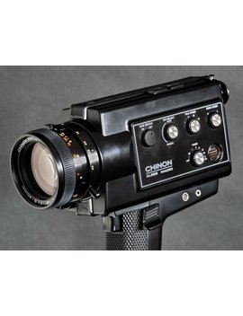 Chinon Xl 555 Super 8 Zoom Movie Camera W 8 40mm F/1.2 Macro Reflex Zoom Lens Pro Version Mi Nty ! by Ace Camera Exchange