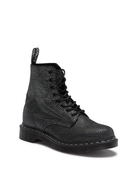 Pascal Metallic Pebble Leather Boot by Dr. Martens