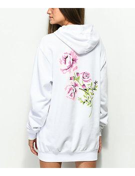 Diamond Supply Co. Garden White Hoodie by Diamond Supply