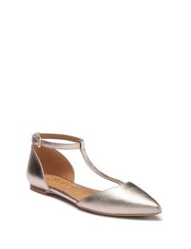 Ghita T Strap D'orsay Flat by Calvin Klein