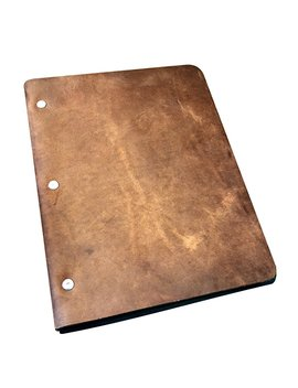 Murdy No. 1 Leather Three Post Binder (Chestnut) by Murdy Creative Co.
