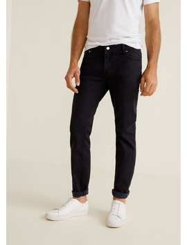 "<Font Style=""Vertical Align: Inherit;""><Font Style=""Vertical Align: Inherit;"">Black Slim Fit Jeans Jan</Font></Font> by Mango"