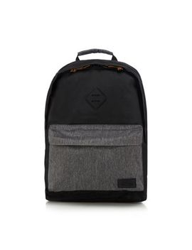 Animal   Black Zip Through Backpack by Animal