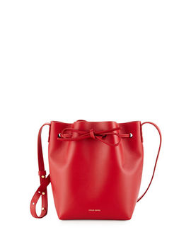 Calf Leather Mini Bucket Bag by Mansur Gavriel