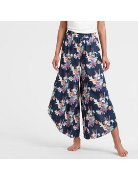 Indigo Blue Paradise Floral Pajama Pants by World Market