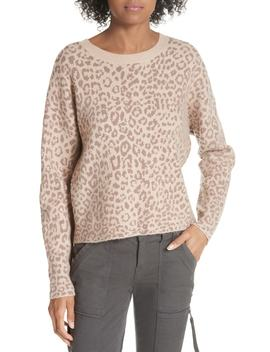 Leopard Print Sweater by Joie