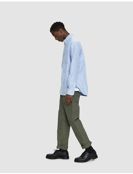 Fatigue Cotton Double Cloth Pant In Olive by Engineered Garments