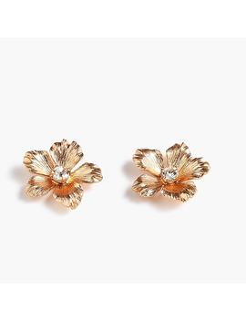 Pansy Earrings by J.Crew