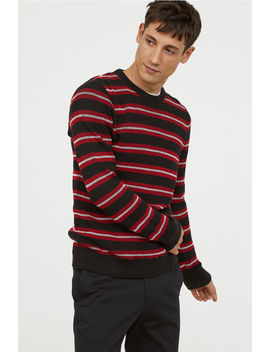 Ribbed Cotton Sweater by H&M