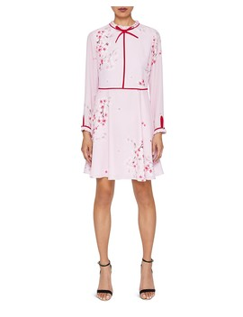 Heydii Peach Blossom Dress by Ted Baker