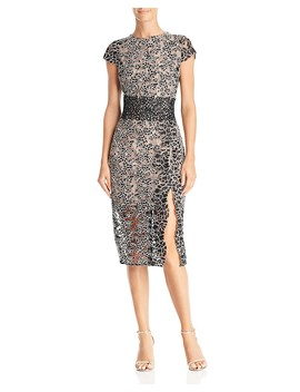 Mixed Lace Dress by Bronx And Banco