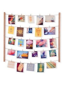 Hangit Photo Display   Natural   Umbra by Shop All Umbra