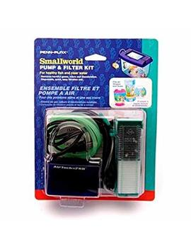 Penn Plax Smallworld Pump & Filter Starter Kit Swk1 Ul By Penn Plax by Amazon