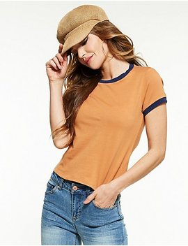 Ringer Tee by Charlotte Russe