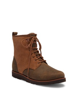 Hannen Plain Toe Genuine Shearling Waterproof Boot by Ugg