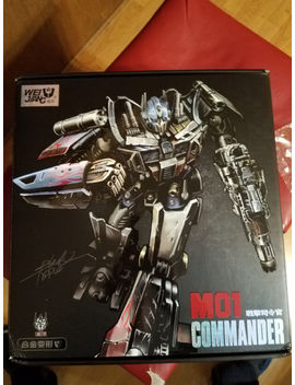 Weijiang Transformers M01 Commander Oversize Aoe Evasion Optimus Prime by Weijiang